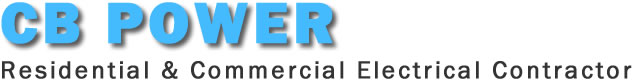 CB POWER - Residential and Commercial Electrical Contractor